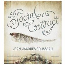 On the Social Contract by Jean-Jacques Rousseau (2013, CD, Unabridged)