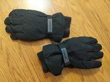 Columbia Ski/Board Gloves Black XL Fleece Lined EUC!!