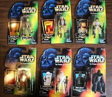 Star Wars POTF (6) Action Figures Rise of Skywalker Mandalorian Nien Numb Tarkin