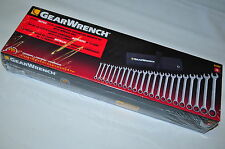 KD GearWrench 85004 Metric 22 Pcs 6MM to 32MM 12 Pt Combination Ratchet Wrench