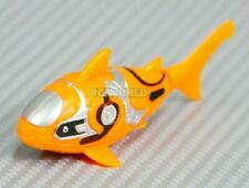 Water Toy Robo Fish Shark Electric Auto Swim Function Tub, Pool, Aquarium Orange