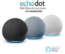 NEW! Amazon Echo Dot 4th Generation - Charcoal | White | Blue | Kids Edition