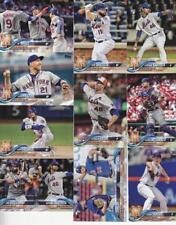 2018 TOPPS Update NEW YORK METS team set (10 cards) CONLON/OSWALT RC