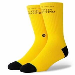 """Stance """"Kill Bill"""" Classic Crew Socks (Yellow) Men's Graphic Print Sock"""
