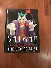 Batman The Animated Series Joker Bust New Rare Limited DC Comics Statue