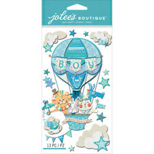 Baby Boy Special Delivery Balloon Jolee's Boutique Dimensional Stickers 50-50626