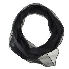 Bufandas y pañuelos de mujer de color principal negro de seda