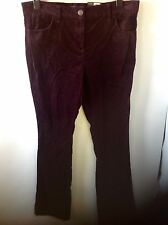 M&S Collection Bootleg Trousers Size: 14 Long