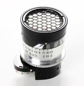 Working Argus CM-2 attachment light meter for C-44 35mm
