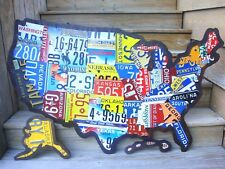 License Plate Map US Mixed State Lots EBay - Us licence plate map