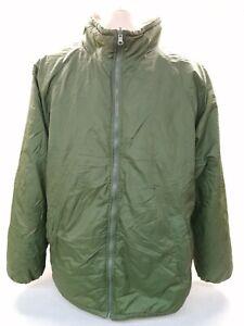 British Army Softy Jacket Reversible Coat Olive Sand Thermal Fishing Winter