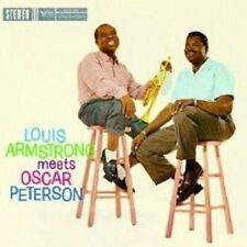 "L. ARMSTRONG & O. PETERSON ""LOUIS ARMSTRONG..."" CD NEW+"