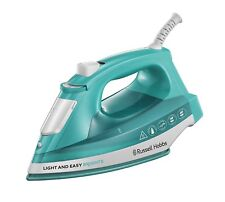 Russell Hobbs 24840 Light & Easy Brights Iron Ceramic Soleplate 2400W - Aqua