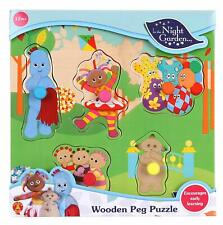 In the Night Garden 1552 Cbeebies Chunky Puzzle for Kids, 5 Piece, Toddler Learn