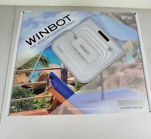 ECOVACS WINBOT W730 WINDOW CLEANING ROBOT WITH REMOTE