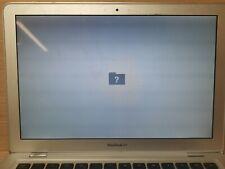 "Apple A1237 MacBook Air 13.3"" flashing folder, selling as is (112)"