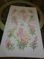 1 LAURA ASHLEY Floral Hand Towel 15x26 GUC Multi Colors