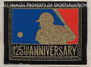 1994 MLB Baseball 125th Anniversary COOPERSTOWN COLLECTION PATCH Willabee & Ward