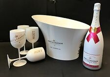 Moet & Chandon Ice Imperial Rose Set 1,5l Magnum 4 Becher + Kühler 12% Vol.