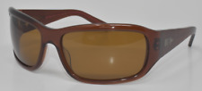 NEW SUNGLASSES MOSLEY TRIBES SYNDICATE ESP BROWN / BROWN POLARIZED
