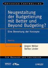 Weber-Neugestaltung der Budgetierung BOOK NEW