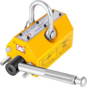 400KG Lifting Magnet Permanent Magnetic Hoist Crane Lifter Handling Block 880LBS