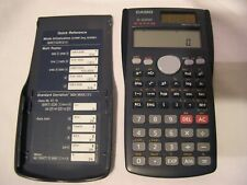 Casio Calculator fx-300Ms two way power with cover calculus algebra math