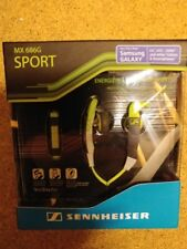 Sennheiser mx 686g PREMIUM SPORTS EARBUD HEADPHONES EARPHONES NEW SEALED