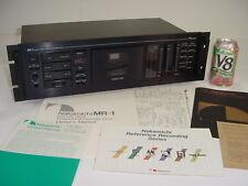 Vintage 1991 Nakamichi MR-1 MR1 3 Head Cassette Tape Recorder Deck w/ Paperwork
