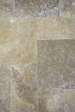 Naturstein Wand Boden Fliese grau Römischer Verband Marmor|F-45-44000