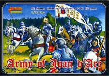 Strelets Models 1/72 THE ARMY OF JOAN OF ARC Hundred Years War Figure Set