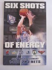 lot of 16 NEW JERSEY BROOKLYN NETS JASON KIDD oversized postcards 2004