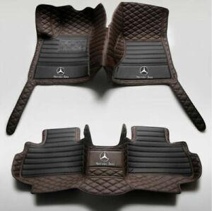 2003-2021 For Mercedes-Benz G GL GLA GLB GLC GLE GLK GLS waterproof floor mats