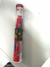 PEZ CANDY WITH SANTA DISPENSER 10 PACKS OF PEZ CANDY