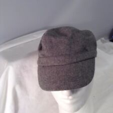 Icing Gray Hat Cap Ladies One Size 70% WIscose 30% Wool  CUTE