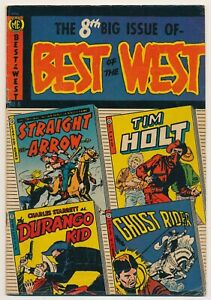 Best of the West #8 Golden Age June 1953 by Magazine Enterprises NICE!