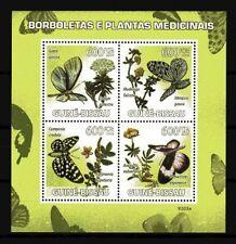 Guinée-Bissau 2009 papillons n° 2804 à 2807 neuf ** 1er choix