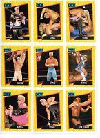 1991 Impel WCW Wrestling Cards Set of 117 Cards