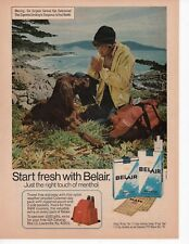 Belair Cigarettes Vintage Print Ad February 1975 Popular Science