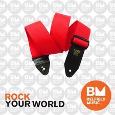 Ernie Ball 4040 Polypro Guitar Strap Super Long Red Adjustable
