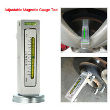 Universal Magnetic Gauge Tool For Car Camber/Castor Strut Wheel Alignment T5P9