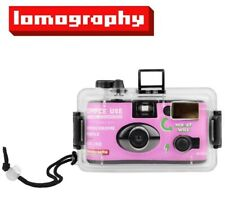 Lomography Simple Use Lomochrome Reloadable Film Camera + Underwater Case Us
