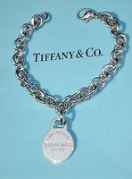 Tiffany & Co Return to Tiffany Silver Detachable Circle Round Tag Charm Bracelet