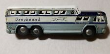 MASAKIYA / STONE Japan Tin Litho Friction 1960s GREYHOUND SCENICRUISER BUS 10.75