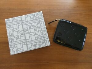 COMME des GARCONS Embossed Polka Dot Leather Wallet RRP$420