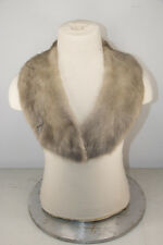 Superb women men real RIVER OTTER fur collar scarf stole for jacquet coat T-10