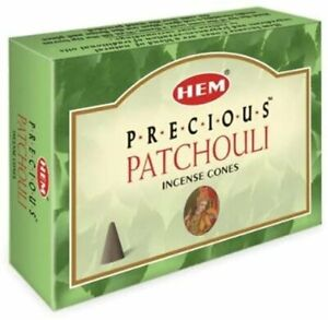 Precious Patchouli Incense Cones for Aromatherapy, Smudging, Cleansing, Purifies
