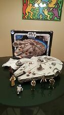 2004 Star Wars Electronic Millennium Falcon Vehicle R2-D2 C-3PO CHEWBACCA & MORE