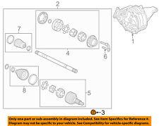 GM OEM-Axle Nut 10289657