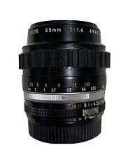 Nikon Nikkor 35mm f1.4 Lens F Mount